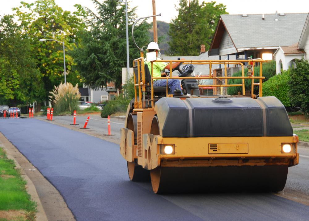 A state government may provide funds to municipalities to help them repair their roads.