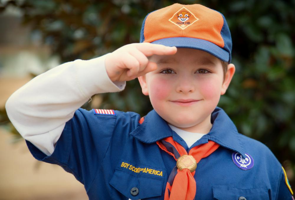 The Boy Scouts of America and other non-profit organizations can file exemption letters to be excluded from paying taxes.