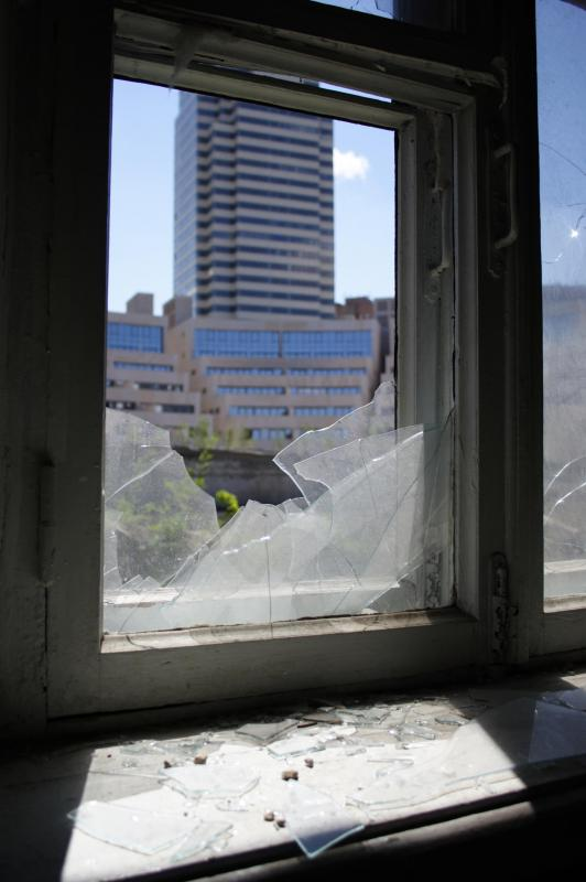 Investment properties with vacant buildings may have to repair damage to property before they can be sold for a profit.
