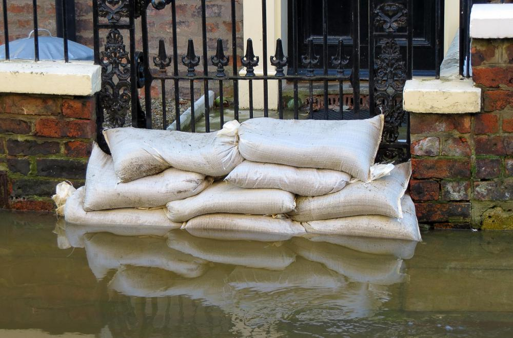 Property insurance can cover damage caused by flooding.