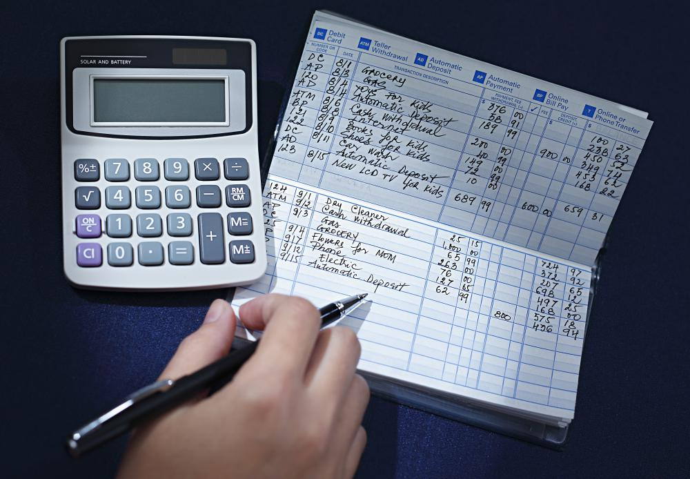 "Making sure the registry balance matches the objective information provided by the bank is called ""balancing a checkbook""."