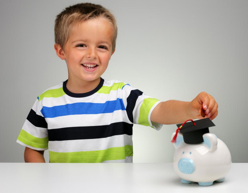 Piggy banks can be used to teach children to be responsible with money.