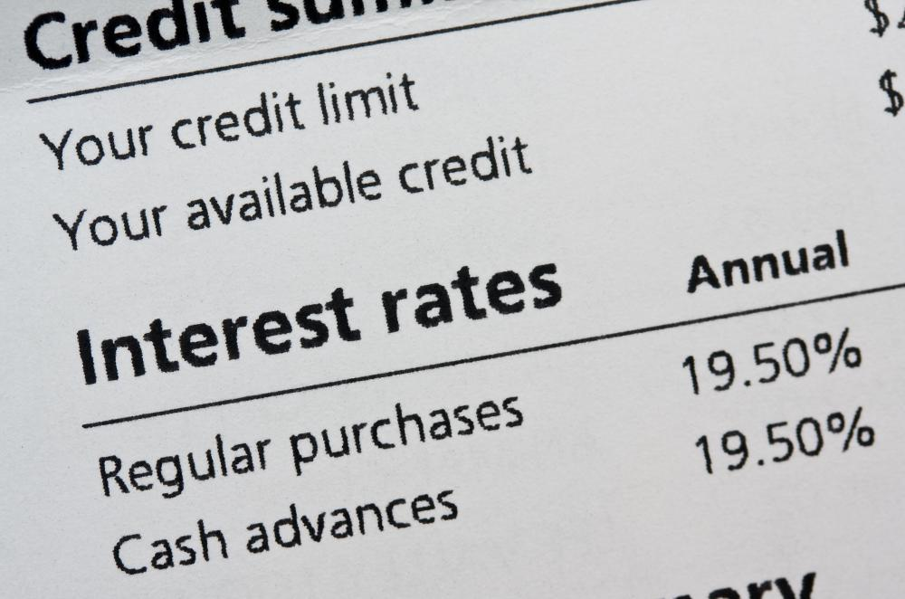 Interest added to the balance of a credit card is a finance charge.