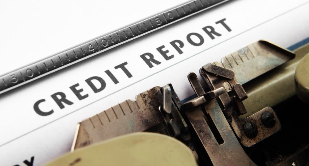 Credit monitoring services track an individual's credit report for suspicious activity.
