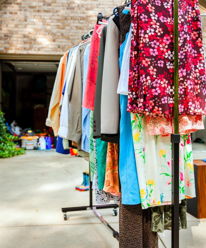 Estate sales differ from garage sales in that estate sales are general run by professionals.