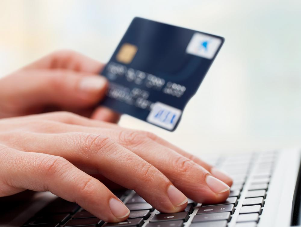 Frequent shopping online can cause excessive credit card debt.