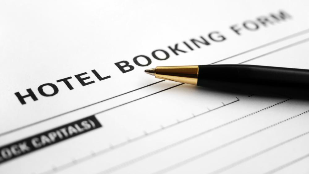 A credit card may be required to make hotel reservations.