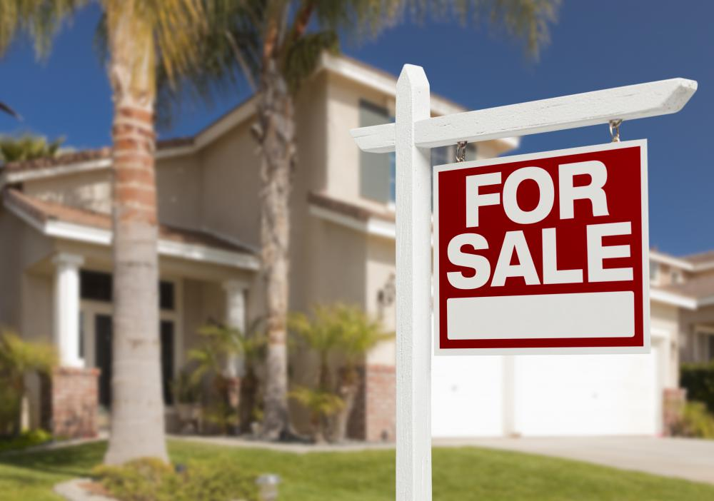 Some people buy vacant homes to fix up and sell as investment properties.