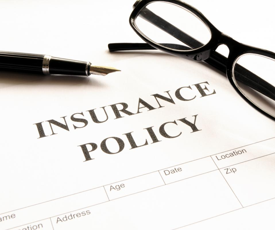 Insurance policies are generally created to protect employees and assist with medical finances if injured on the job.