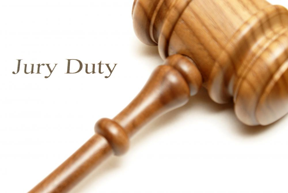 Individuals may file a letter of exemption to be excused from jury duty.