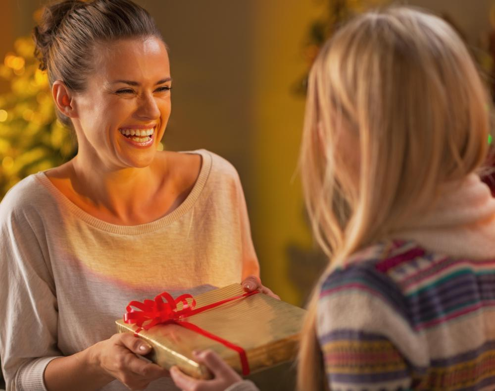Gift receipts allow a purchaser to buy and give a gift without revealing the price paid.