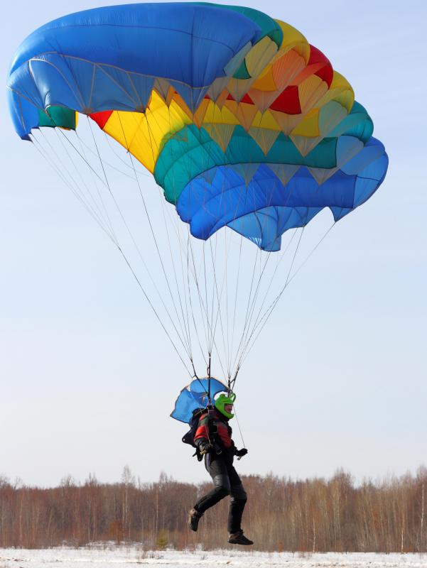 Life insurance costs more for people at a higher risk of death, such as sky dive instructors.