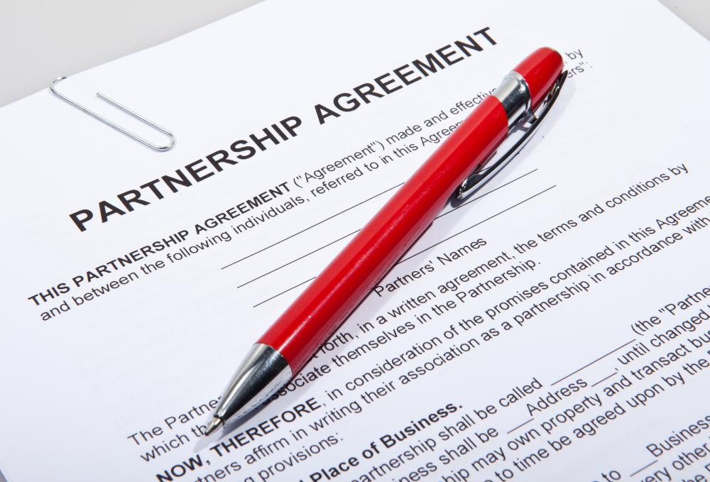 A partnership interest is the percentage of the partnership owned by a particular partner.