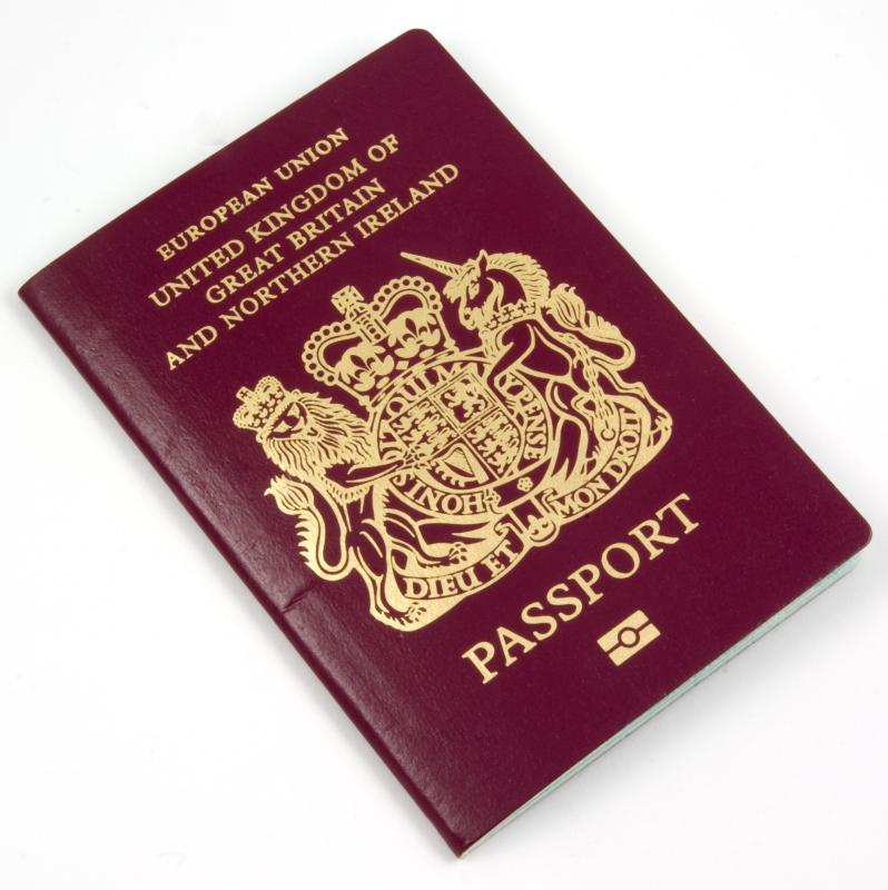A passport can provide proof of identity for opening a bank account.