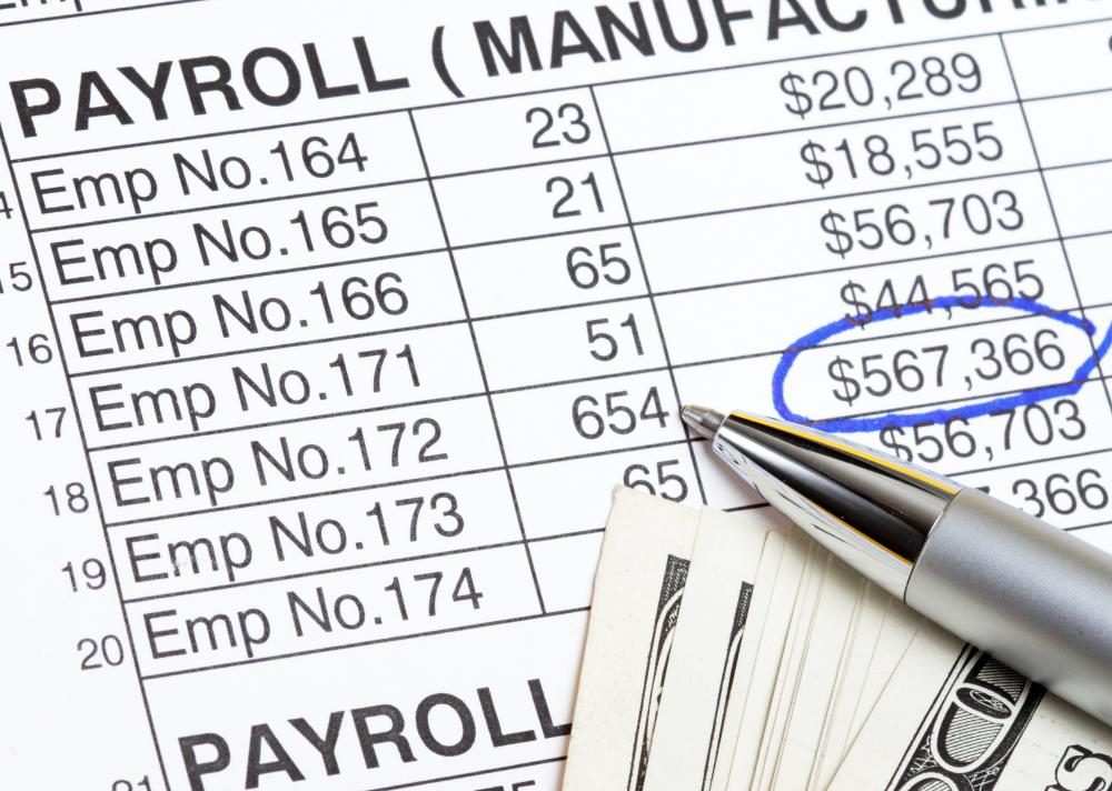 The most basic payroll expense is the amount of cash that is paid to the employee.