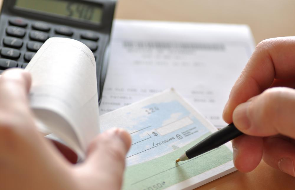 Many people have a primary checking account, but they may also have checks for other accounts as well.