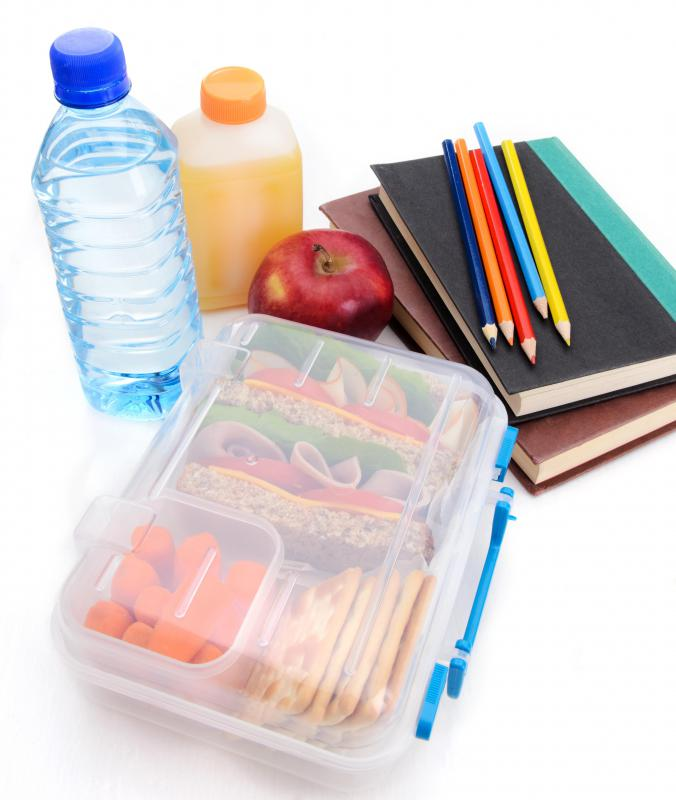 School supplies are part of a family's living expenses.