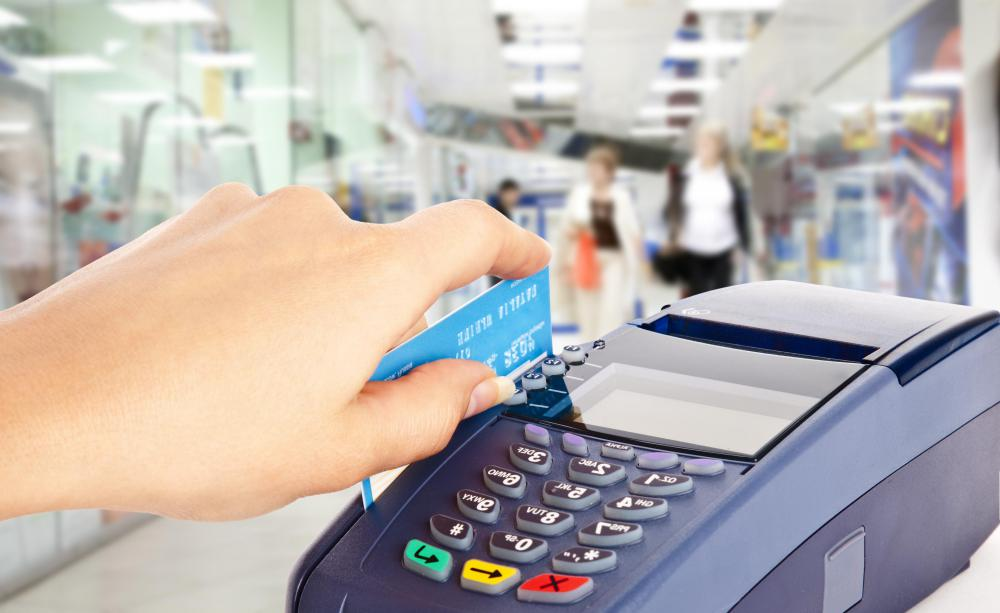 Debit card machines enable customers to make purchases using their debit cards.