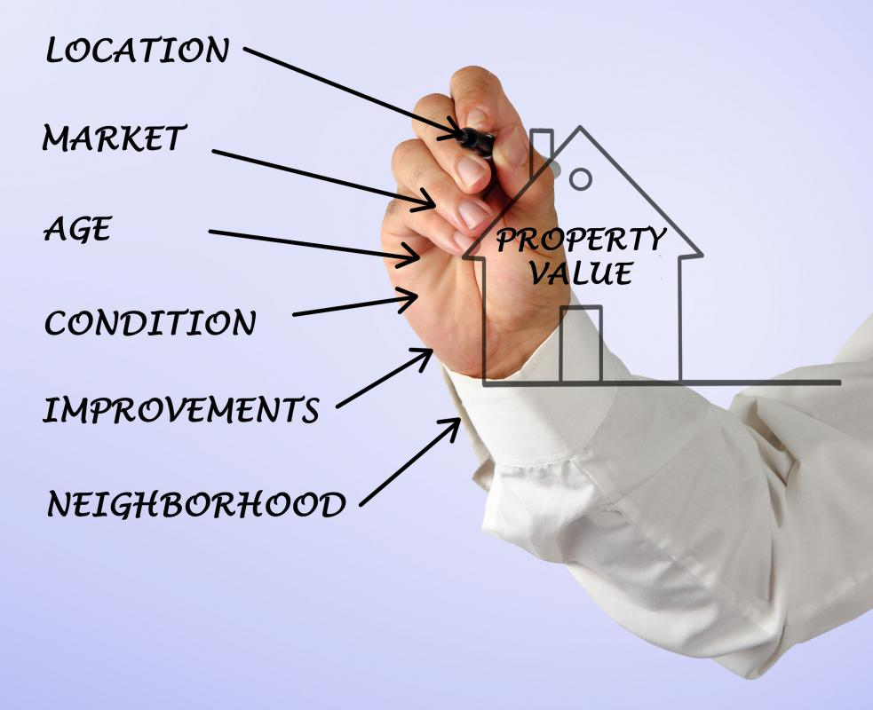 An appraiser must look at multiple factors when determining the value of a home or business.