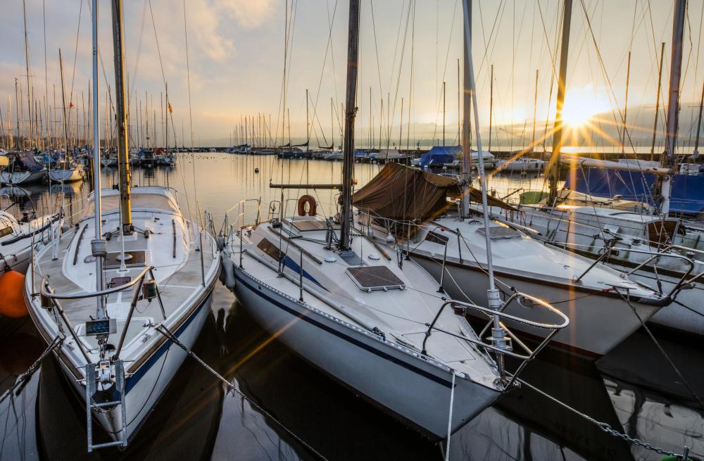 Personal property, such as sailboats, may be used as collateral for a secured loan.
