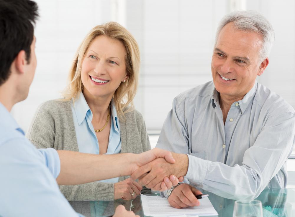 Many individuals choose to meet with a financial professional prior to planning for retirement.