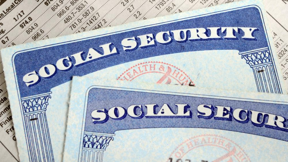 Social Security cards and other important paperwork may be stored in a safety deposit box.