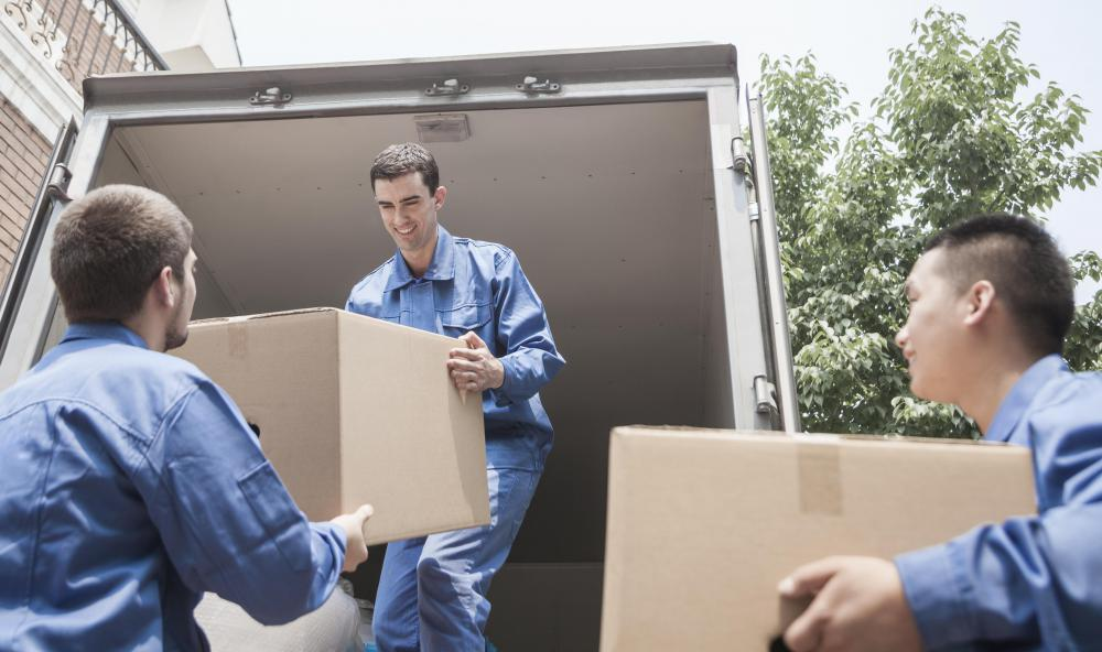 Moving companies often have to be bonded and insured.