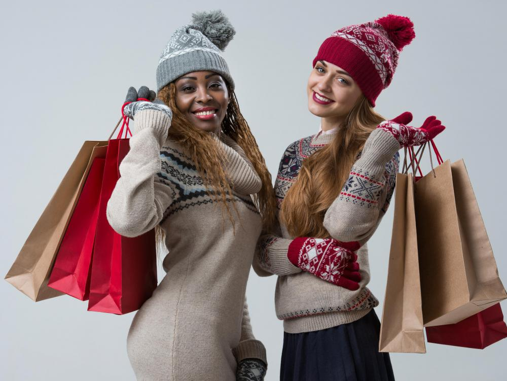 During holiday shopping seasons, gift receipts may be automatically given to shoppers along with basic receipts.