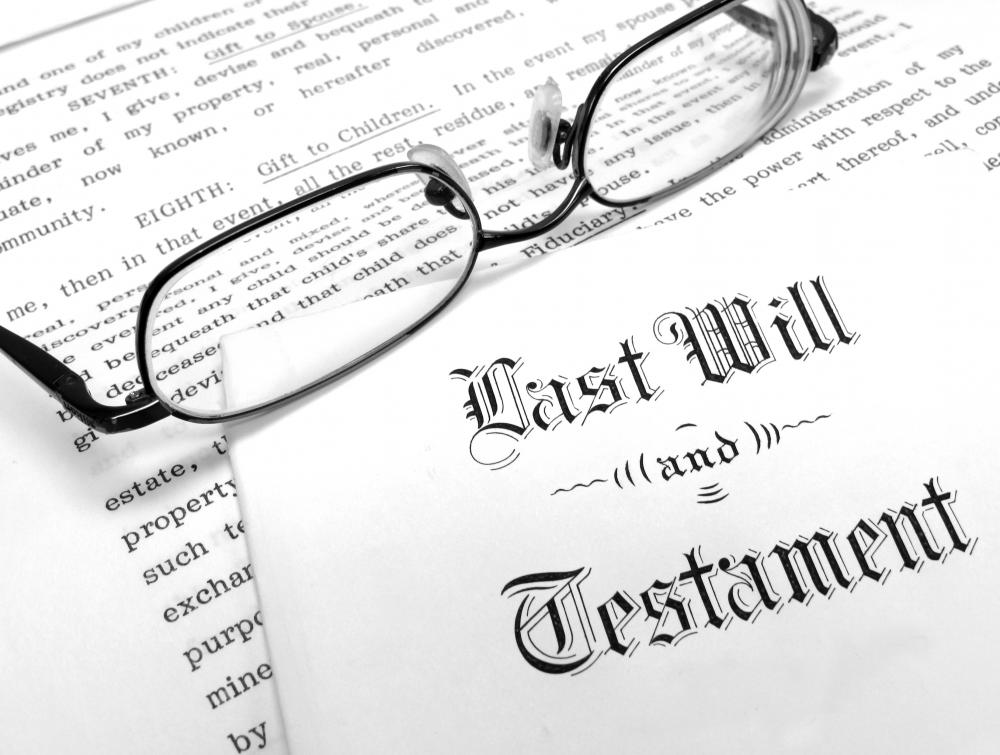 Having a will is a good way to prevent an estate sale from happening after a person passes on.