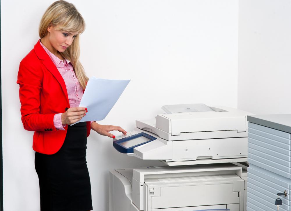 Payments made on a copy machine lease would be an example of a business' fixed cost.