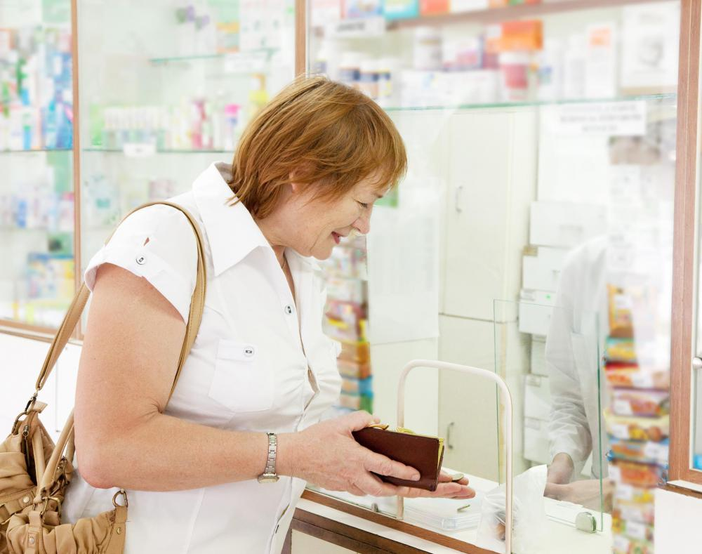 Many group health insurance policies also offer prescription drug coverage.