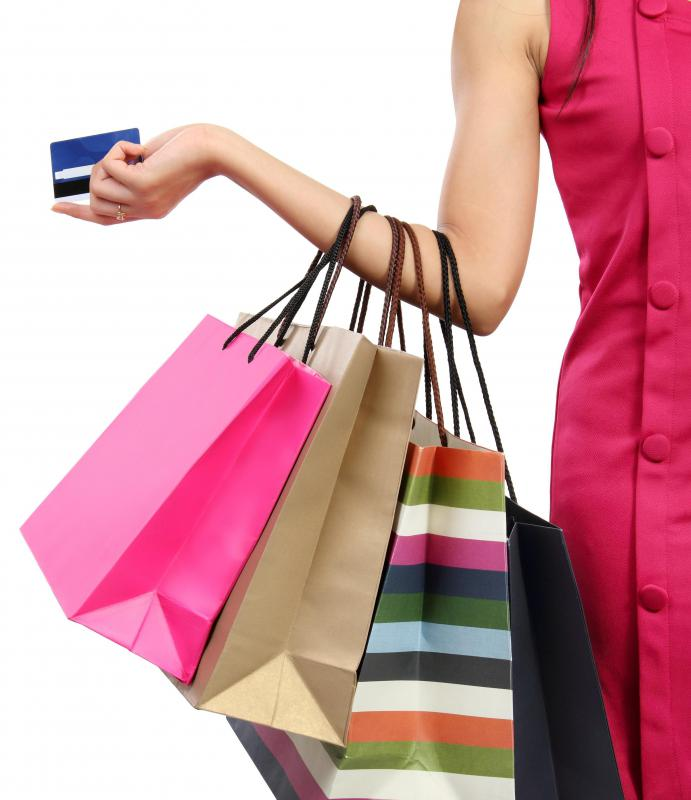 Credit cards afford people the ability to make purchases on credit, paying the total off on a regular basis.